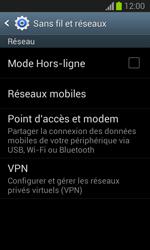 Samsung S7390 Galaxy Trend Lite - Internet - activer ou désactiver - Étape 5