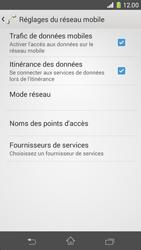 Sony Xperia Z1 Compact - Internet et roaming de données - Désactivation du roaming de données - Étape 6