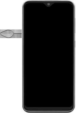 Samsung Galaxy A20e - Toestel - simkaart plaatsen - Stap 2