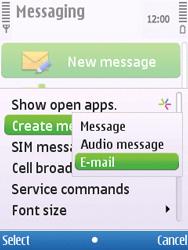Nokia C5-00 - E-mail - Sending emails - Step 4
