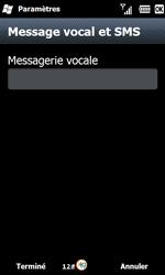 Samsung B7610 Omnia Qwerty - Messagerie vocale - configuration manuelle - Étape 8