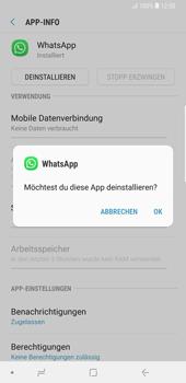 Samsung Galaxy Note9 - Apps - Eine App deinstallieren - Schritt 7