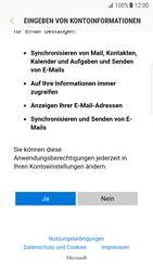 Samsung Galaxy S7 Edge - E-Mail - Konto einrichten (outlook) - 8 / 11