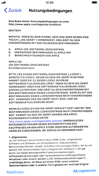 Apple iPhone 6 Plus - iOS 11 - Persönliche Einstellungen von einem alten iPhone übertragen - 18 / 31