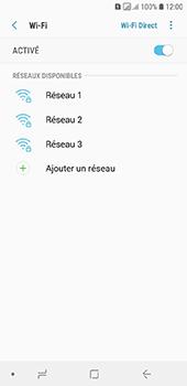 Samsung Galaxy A6 - Wifi - configuration manuelle - Étape 6