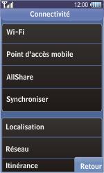 Samsung S8500 Wave - MMS - Configuration manuelle - Étape 5