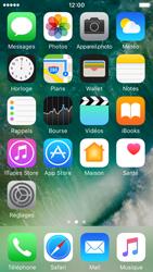 Apple iPhone SE - iOS 10 - iOS features - Supprimer et restaurer les applications iOS par défaut - Étape 6