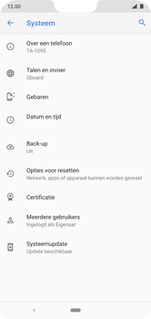 Nokia 7.1 - Android Pie - toestel resetten - back-up maken met jouw account - stap 8