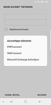 Samsung galaxy-s8-g950-android-oreo - E-mail - Account instellen (POP3 met SMTP-verificatie) - Stap 9