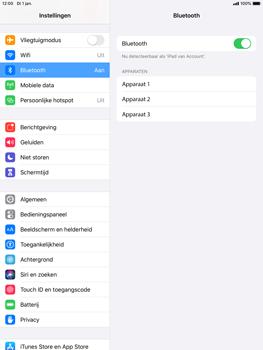 Apple iPad mini 4 - iPadOS 13 - Bluetooth - koppelen met ander apparaat - Stap 7