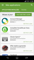 Sony Xperia Z2 - Applications - Comment vérifier les mises à jour des applications - Étape 6