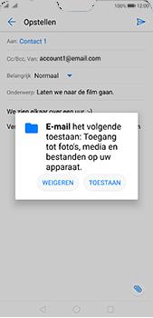 Huawei P20 Pro - E-mail - E-mails verzenden - Stap 11