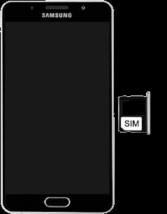 Samsung Galaxy A5 (2016) - SIM-Karte - Einlegen - 5 / 8