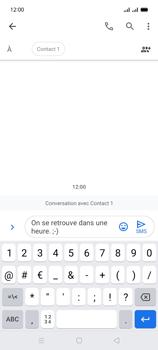 Oppo A15 - Contact, Appels, SMS/MMS - Envoyer un SMS - Étape 11