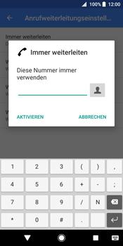 Sony Xperia XZ2 - Anrufe - Rufumleitungen setzen und löschen - 11 / 13