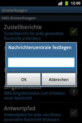 Samsung S5830i Galaxy Ace i - SMS - Manuelle Konfiguration - Schritt 5