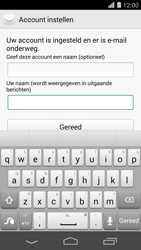 Huawei Ascend P7 - E-mail - Account instellen (POP3 zonder SMTP-verificatie) - Stap 21