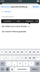 Apple iPhone 6 - E-Mail - E-Mail versenden - 9 / 16