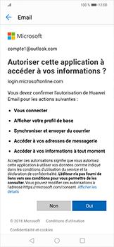 Huawei Mate 20 lite - E-mails - Ajouter ou modifier votre compte Outlook - Étape 7