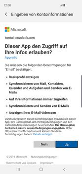 Samsung Galaxy S10 - E-Mail - Konto einrichten (outlook) - 9 / 16