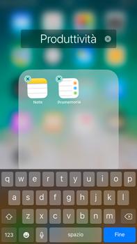 Apple iPhone 6s Plus iOS 11 - Operazioni iniziali - Personalizzazione della schermata iniziale - Fase 7