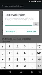 HTC One A9 - Android Nougat - Anrufe - Rufumleitungen setzen und löschen - Schritt 7
