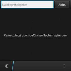 BlackBerry Q10 - Apps - Konto anlegen und einrichten - 0 / 0