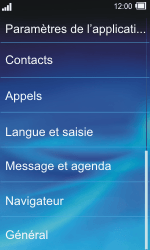Sony TXT Pro - Messagerie vocale - Configuration manuelle - Étape 4