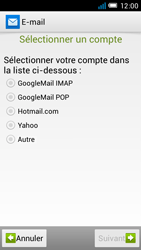 Alcatel One Touch Idol Mini - E-mail - configuration manuelle - Étape 7