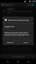 Sony Xperia T - Bluetooth - Verbinden von Geräten - Schritt 7