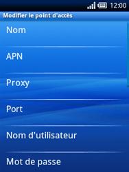 Sony Ericsson Xperia X10 Mini Pro - Internet - configuration manuelle - Étape 8