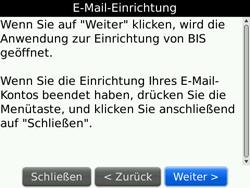BlackBerry 9700 Bold - E-Mail - Konto einrichten - Schritt 7