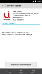 Huawei Ascend P6 - Software - Installing software updates - Step 8