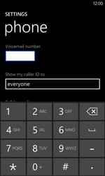 Nokia Lumia 520 - Voicemail - Manual configuration - Step 7