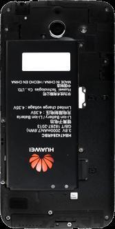 Huawei Ascend Y550 - SIM-Karte - Einlegen - Schritt 6