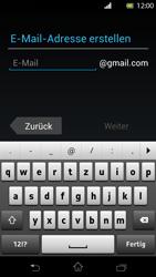Sony Xperia T - Apps - Konto anlegen und einrichten - Schritt 6