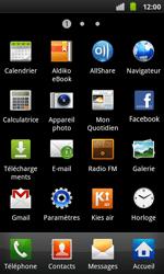 Samsung I9001 Galaxy S Plus - Messagerie vocale - configuration manuelle - Étape 4