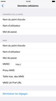 Apple Apple iPhone 7 Plus - Internet et roaming de données - Configuration manuelle - Étape 7
