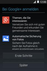 Samsung Galaxy Young 2 - Apps - Konto anlegen und einrichten - 21 / 25