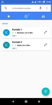 Sony Xperia L3 - Anrufe - Anrufe blockieren - Schritt 7