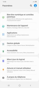 Samsung Galaxy S20 Plus 5G - Prise en main - Comment ajouter une langue de clavier - Étape 4