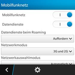 BlackBerry Q5 - Netzwerk - Netzwerkeinstellungen ändern - 6 / 8