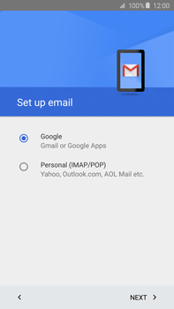 Samsung N920 Galaxy Note 5 - E-mail - Manual configuration (gmail) - Step 10