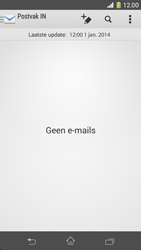Sony D5503 Xperia Z1 Compact - e-mail - handmatig instellen - stap 4