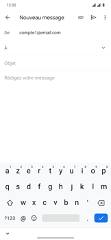 OnePlus 7T Pro - E-mails - Envoyer un e-mail - Étape 5