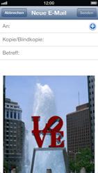 Apple iPhone 5 - E-Mail - E-Mail versenden - Schritt 7