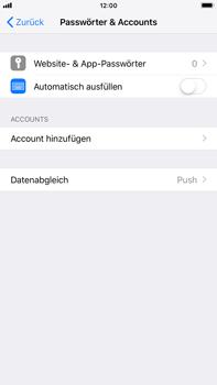 Apple iPhone 8 Plus - E-Mail - Konto einrichten - 4 / 27