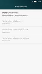 Huawei Y5 - Anrufe - Rufumleitungen setzen und löschen - 8 / 9