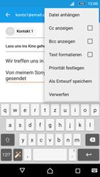 Sony E5603 Xperia M5 - E-Mail - E-Mail versenden - Schritt 10