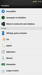 HTC One Max - Messagerie vocale - configuration manuelle - Étape 5